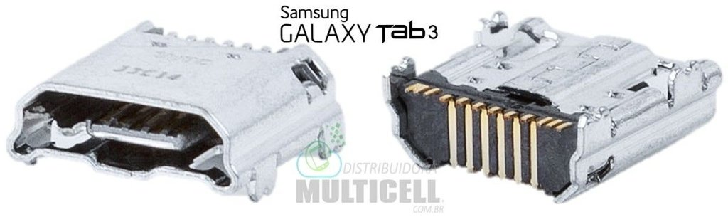 CONECTOR DE CARGA SAMSUNG  P3200 P3210 P5200 P5210 T210 T211 T230 T231 T235 ORIGINAL