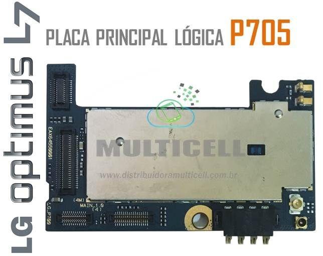 PLACA LÓGICA PRINCIPAL P705 LG L7 ORIGINAL