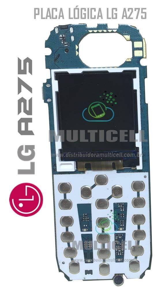 PLACA LÓGICA PRINCIPAL A275 DUAL SIM COM DISPLAY LCD ORIGINAL