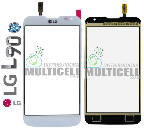 TELA TOUCH SCREEN LG D410 L90 BRANCO 100% ORIGINAL