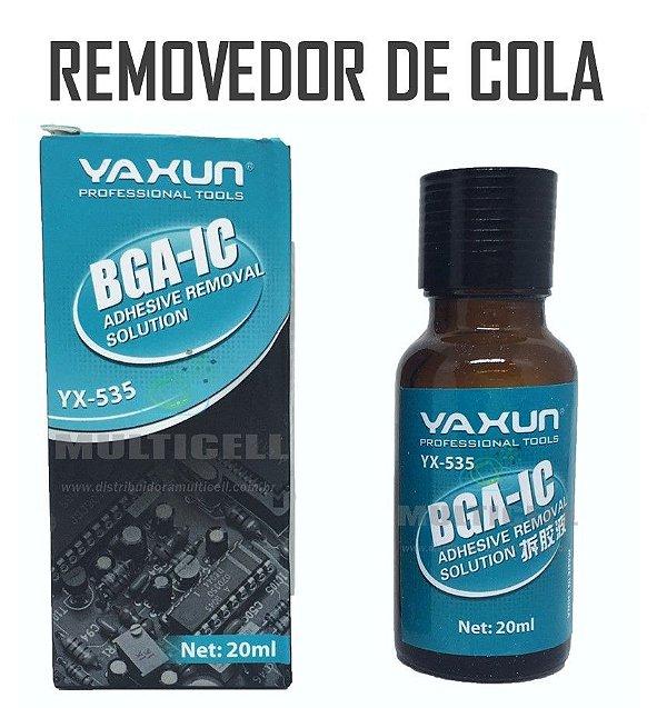 REMOVEDOR DE COLA PARA TOUCH SCREEN YAXUN YX-535 20ml ORIGINAL