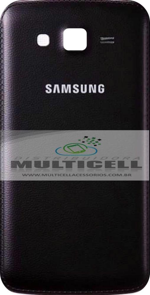 TAMPA TRASEIRA SAMSUNG G7102/G7106 GALAXY GRAND 2 DUOS PRETA 1ªLINHA