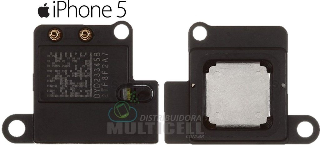 ALTO FALANTE AURICULAR APPLE IPHONE 5 ORIGINAL