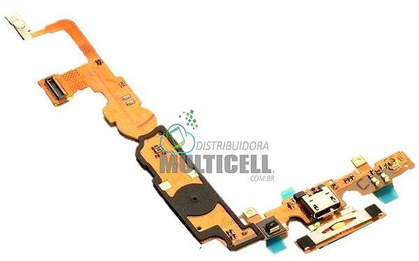 FLEX DOCK CONECTOR DE CARGA HOME E MICROFONE LG P710 L7II 1ªLINHA