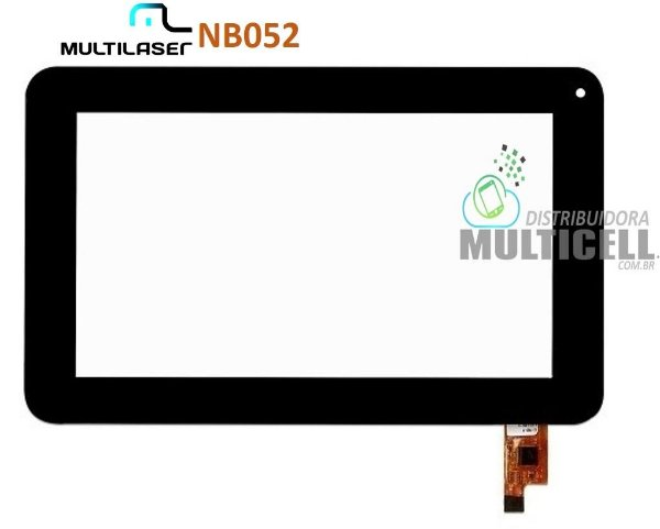 TELA TOUCH SCREEN MULTILASER NB052 DIAMOND LITE PRETO ORIGINAL