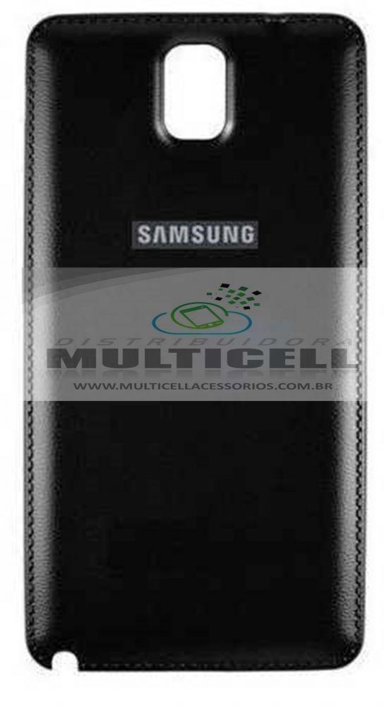 TAMPA TRASEIRA SAMSUNG N9000/N9005 GALAXY NOTE 3 PRETA 1ªLINHA