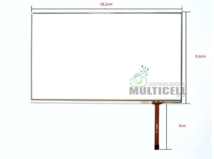 TELA TOUCH SCREEN GENESIS GT7105 BAK 784 ORIGINAL