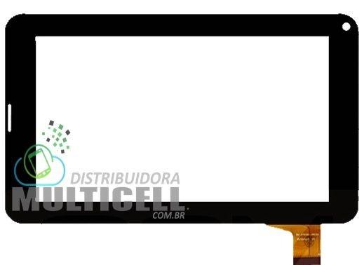 TELA TOUCH SCREEN LENOXX TB3000 7' PRETO ORIGINAL