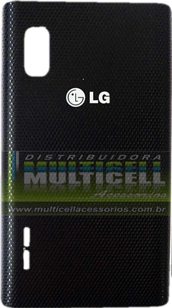 TAMPA TRASEIRA DA BATERIA LG E612/E615 L5 PRETA