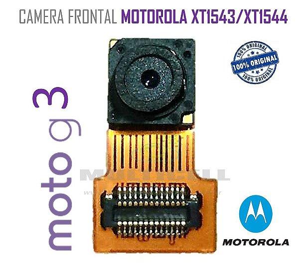CAMERA FRONTAL MOTOROLA XT1543/XT1544 MOTO G3 3ª GERAÇÃO ORIGINAL