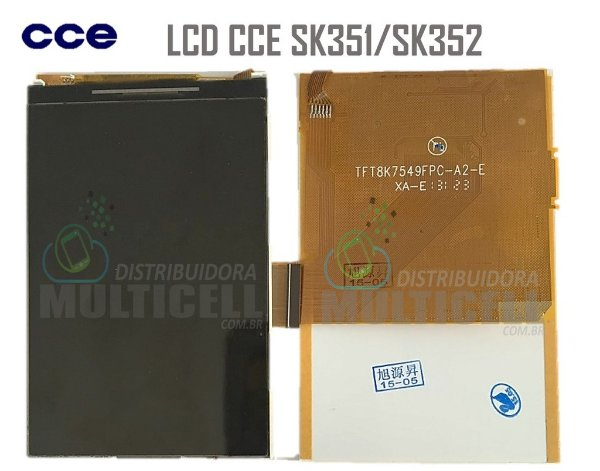 DISPLAY LCD SK351/SK352 CCE MOTION PLUS ORIGINAL