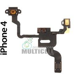 FLEX POWER E MICROFONE APLLE IPHONE 4 1ªLINHA