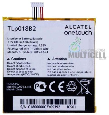 BATERIA ALCATEL TLP018B2  6030 OT6030 ON TOUCH IDOL 7024 OT7024 ON TOUCH FIERCE ORIGINAL