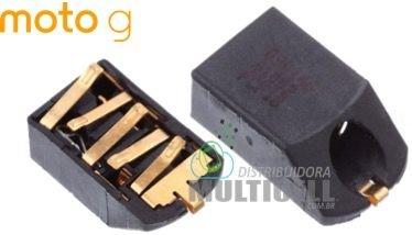FLEX CONECTOR FONE DE OUVIDO MOTOROLA XT1030 XT1032 XT1033 XT1040 MOTO G ORIGINAL