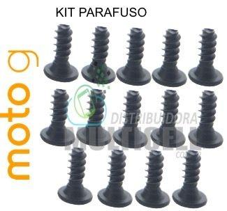 KIT PARAFUSO XT1030 XT1032 XT1033 XT1040 MOTO G ORIGINAL