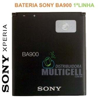BATERIA SONY ERICSSON BA900 D2004 D2005 D2104 D2105 D2114 E1 XPERIA J ST26I LT29I 1ªLINHA