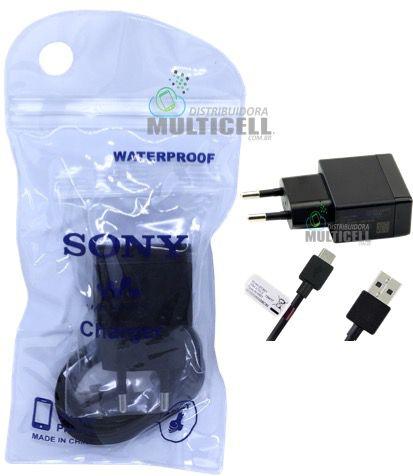 CARREGADOR MODELO SONY MICRO USB V8 5V=1.5A 1ªLINHA