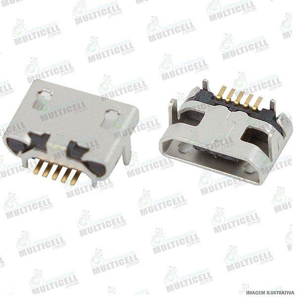 CONECTOR USB DOCK DE CARGA PARA TABLET E CELULARES MODELO UNIVERSAL GV1O1 (5 TRILHAS 2 BASE LARGA 2 BASE CURTA)
