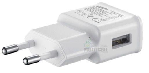 FONTE TOMADA PAREDE USB 5V 1.0A MODELO SAMSUNG BRANCA 1ªLINHA AAA