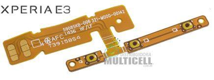 FLEX POWER ON/OFF E VOLUME SONY D2203 D2206 D2212 XPERIA E3 ORIGINAL