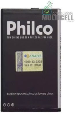 BATERIA PHILCO PHB-DM903 PHONE 350 P350 P530b Ph350 1300mAh 3,7v ORIGINAL