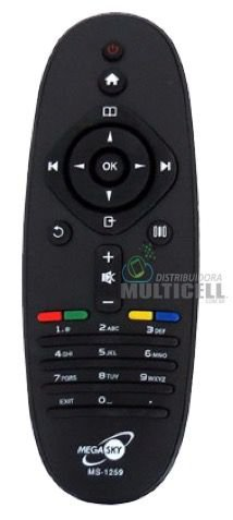 CONTROLE REMOTO TV LCD FHILIPS MS-1259 MS1259 1ªLINHA