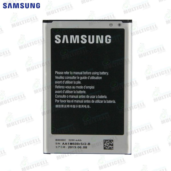 BATERIA SAMSUNG N9000 N9005 B800BE GALAXY NOTE 3 ORIGINAL