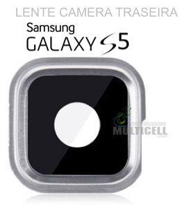LENTE VIDRO CAMERA TRASEIRA SAMSUNG G900 GALAXY S5 ORIGINAL