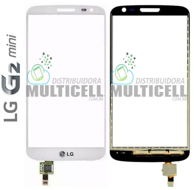 TELA TOUCH SCREEN LG D618 D625 G2 MINI BRANCO 1ªLINHA AAA