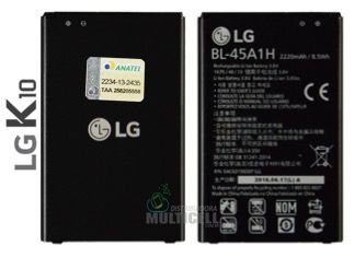 BATERIA LG BL-45A1H BL45A1H K430 K430TV K420 K430DS LG K10 ORIGINAL