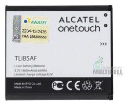 BATERIA ALCATEL ONE TOUCH TLIB5AF OT-997 OT997 5035 5036 5037 POP C5 ORIGINAL