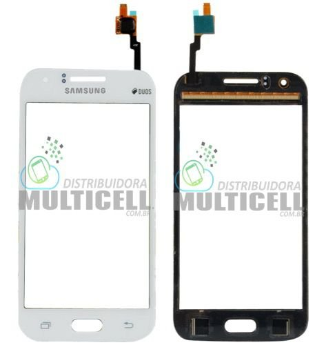 TELA TOUCH SCREEN SAMSUNG J100 J100F J100H GALAXY J1 BRANCO 1ªLINHA