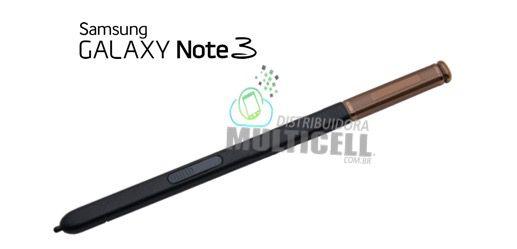 CANETA CAPACITIVA DE TOQUE STYLUS SAMSUNG N9000 N9003 N9005 N7505 GALAXY NOTE 3 GOLD DOURADA ORIGINAL