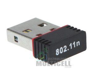 ADAPTADOR USB WIFI WIRELESS 2.0 802.11N 300Mbps
