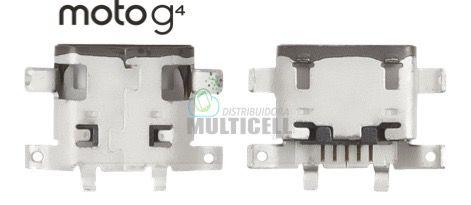 CONECTOR USB DOCK DE CARGA MOTOROLA XT1626 MOTO G4 ORIGINAL