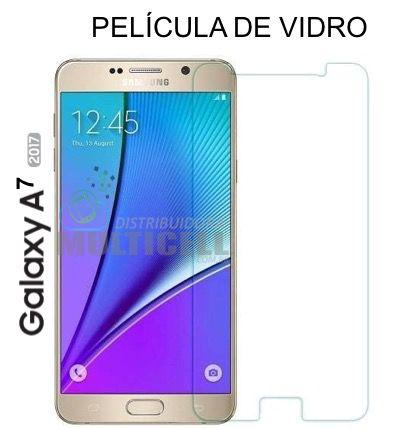 PELÍCULA DE VIDRO A720 SAMSUNG A7 2017 2,5mm
