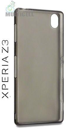 CAPA TPU SUPER FINA CASCA DE OVO SONY D6603 D6633 D6643 D6653 XPERIA Z3 FUME