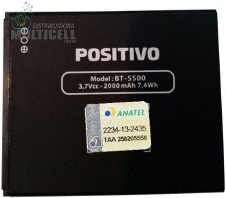 BATERIA POSITIVO MODELO BT-S500 S500 3.7V 2000mAh ORIGINAL