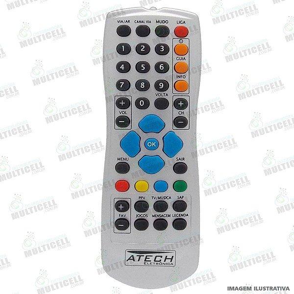 CONTROLE REMOTO PARA RECEPTOR EMBRATEL CLARO TV FBG-7915 1ªLINHA