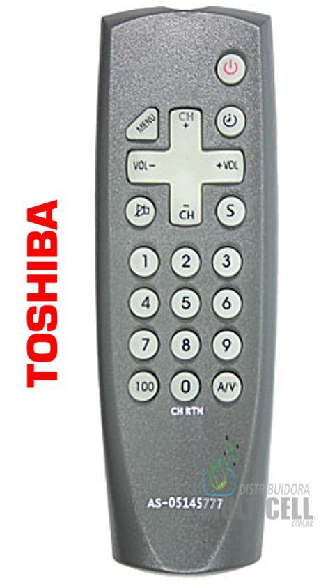 CONTROLE REMOTO PARA TV TOSHIBA ID-7180 YA-M005 FBG-7180