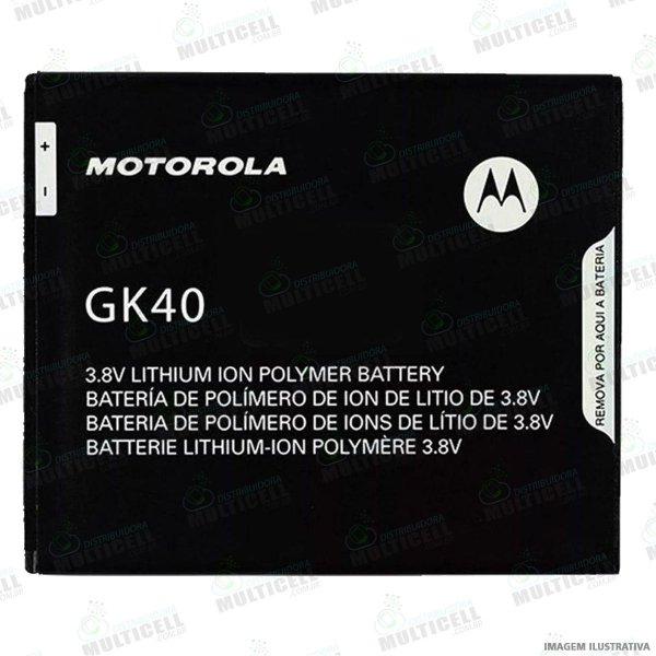 BATERIA MOTOROLA GK40 XT1600 MOTO G4 PLAY XT1671 XT1672 MOTO G5 XT1700 MOTO E3 QUALIDADE AAA