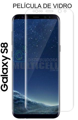 PELÍCULA DE VIDRO COM BORDA SAMSUNG G950 GALAXY S8