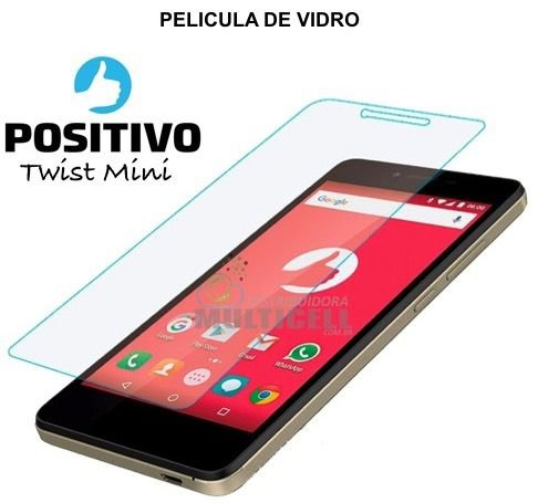 PELÍCULA DE VIDRO POSITIVO S430 TWIST MINI 2,5mm