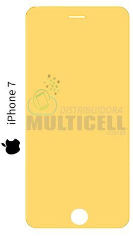 PELÍCULA DE GEL ANTI-IMPACTO APPLE IPHONE 7  (COBRE TODA A TELA)