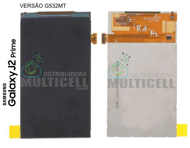 DISPLAY LCD VIDRO SAMSUNG G532MT GALAXY J2 PRIME ORIGINAL (VERSÃO G532MT)