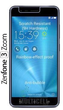 "PELICULA ASUS ZE553KL ZENFONE 3 ZOOM 5.5"" 3mm (SEM EMBALAGEM)"