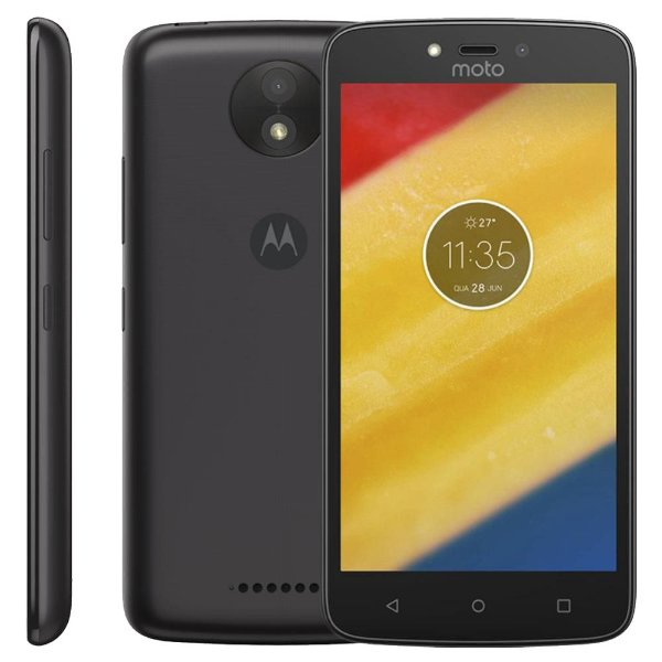 """APARELHO CELULAR SMARTPHONE DESBLOQUEADO MOTOROLA XT1750 DUAL SIM 3G TELA 5.0"""" 8GB CAMERA 5MP COM FLASH FRONTAL PRETO"""