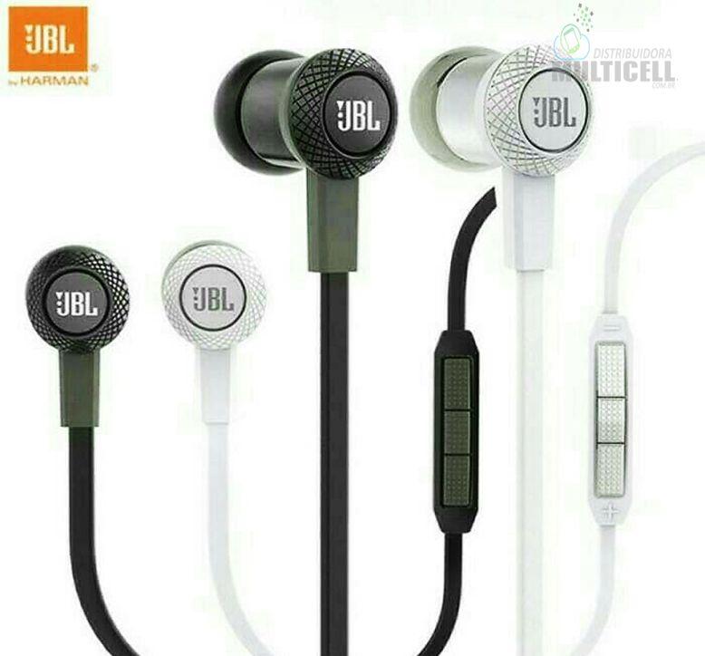FONE DE OUVIDO P2 JBL IN EAR INTRA-AURICULAR 1ª LINHA