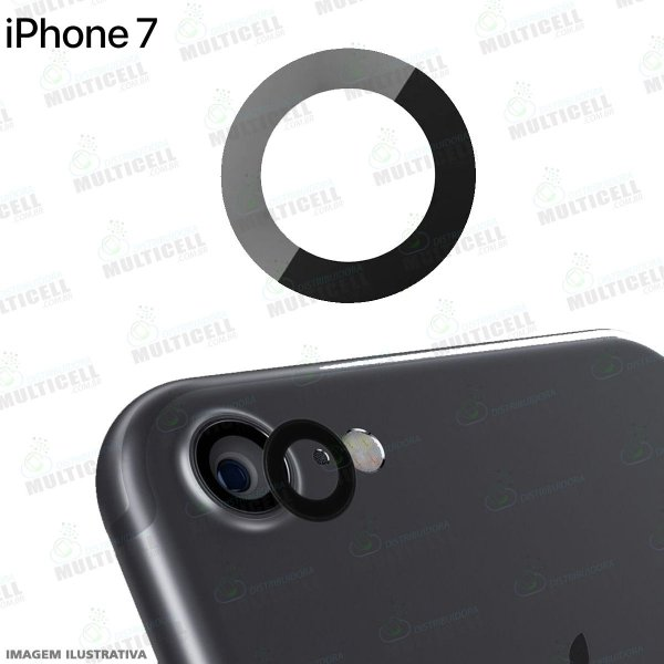 LENTE VIDRO CAMERA TRASEIRA APPLE IPHONE 7 ORIGINAL