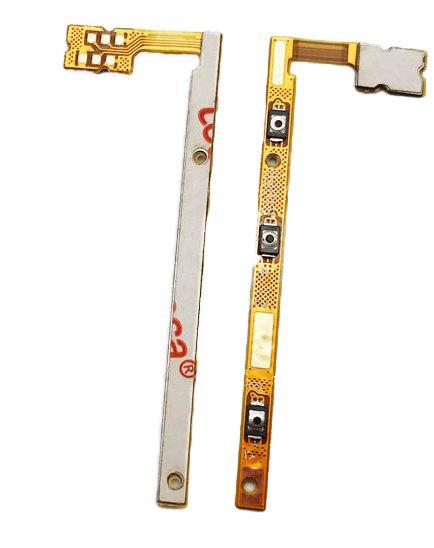 FLEX BOTÃO LATERAL TECLA POWER E VOLUME MOTOROLA XT1802 XT1806 MOTO G5S PLUS ORIGINAL